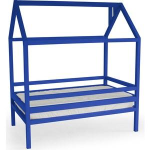 Кровать Anderson Дрима H синяя 80x160 детская кровать домик андерсон дрима н
