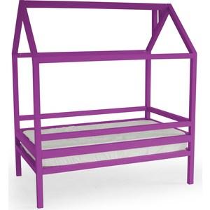 Кровать Anderson Дрима H фиолетовая 80x190 детская кровать домик андерсон дрима н