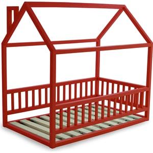 Кровать Anderson Дрима МБ красная 80x160 детская кровать домик андерсон дрима н