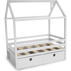 Фотография товара кровать Anderson Дрима BOX белая 90x190 (740596)