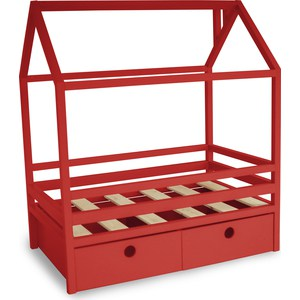 Фотография товара кровать Anderson Дрима BOX красная 80x160 (740603)