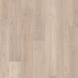 Ламинат QUICK-STEP ELIGNA Доска дубовая светло-серая лакированная 32кл. 8мм. (1380х156) 1.722 м.кв. ламинат quick step eligna дуб итальянский светло серый 32 класс