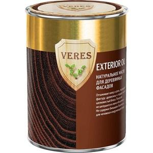 Масло для деревянных фасадов VERES OIL EXTERIOR № 8 темный дуб 0.9л.