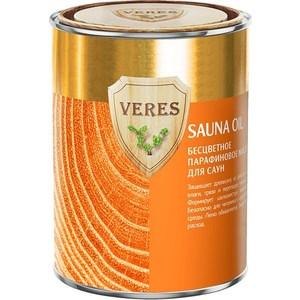 Масло для сауны VERES SAUNA OIL бесцветное парафиновое 0.9л.