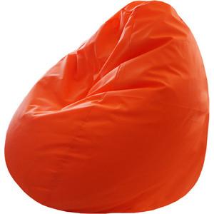 Кресло-груша Папа Пуф Оксфорд оранжевый кресло груша папа пуф экокожа белый