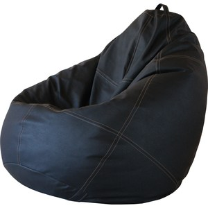 Кресло Папа Пуф Boss black кресло папа пуф boss brown натуральная кожа