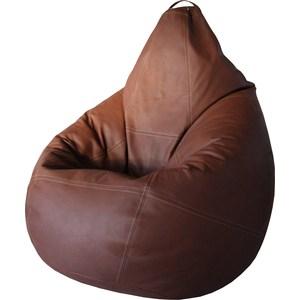 Кресло Папа Пуф Boss brown кресло папа пуф boss brown натуральная кожа