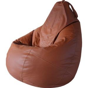 Кресло Папа Пуф Boss brown натуральная кожа кресло папа пуф boss brown натуральная кожа