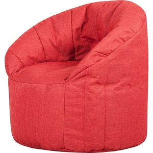 Бескаркасное кресло Папа Пуф Club chair red 240336 household office chair computer chair 3d thick cushion ergonomic chair quality pu wheel high breathable mesh
