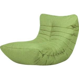 Бескаркасное кресло Папа Пуф Cocoon lime mantra cocoon