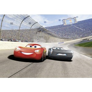 Фотообои Disney Cars3 Curve (3,69х2,54 м) футболка lost ink curve lost ink curve lo030ewlis44