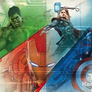 Фотообои MARVEL Avengers Graphic Art (3,68х2,54 м) marvel s the avengers encyclopediа