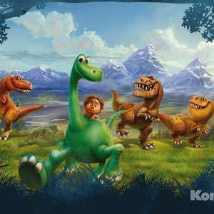 Фотообои Disney The Good Dinosaur (3,68х2,54 м) фотообои disney the good dinosaur 3 68х2 54 м