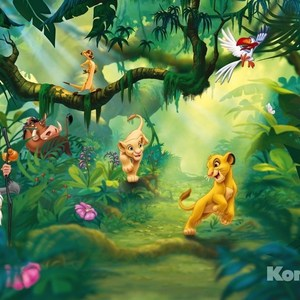 Фотообои Disney Lion King Jungle (3,68х2,54 м) фотообои disney the good dinosaur 3 68х2 54 м
