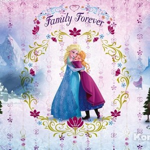 Фотообои Disney Frozen Family Forever (3,68х2,54 м) пазл disney frozen 3d 240