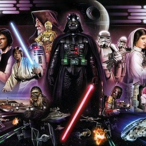 Фотообои Star Wars STAR WARS Darth Vader Collage (3,68х2,54 м)