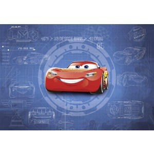 Фотообои Disney Cars3 Blueprint 368х254 м