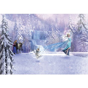 Фотообои Disney Frozen Forest (3,68х2,54 м) пазл disney frozen 3d 240
