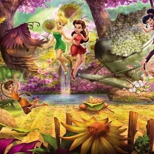 Фотообои Disney Fairies Forest (3,68х1,27 м) mora buchcraft forest r36339