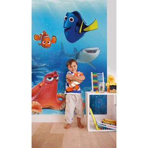 Фотообои Disney Dory and Friends (1,84х2,54 м) фотообои disney the good dinosaur 3 68х2 54 м
