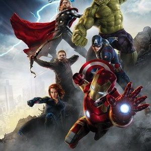 Фотообои MARVEL Avengers Age of Ultron (1,84х2,54 м)(4-458) marvel 198g