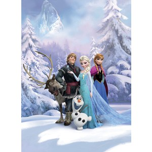 Фотообои Disney Frozen Winter Land (1,84х2,54 м) пазл disney frozen 3d 240