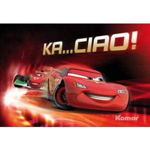 Фотообои Disney Cars Ka Ciao (1,84х1,27 м) disney pixar cars cars 3 dwb90 lighting mcqueen piston cup race track parking toys birthday christmas gifts for kids cars toys