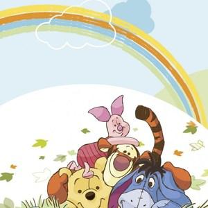 Фотообои Disney Winnie Pooh (1,27х1,84 м) жилинская а отв ред я особенный шаг 1 winnie the pooh