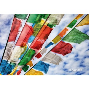 Фотообои Komar Prayer Flags NG (1,84х1,27 м) (1-606) фотообои komar prayer flags ng 1 84х1 27 м 1 606