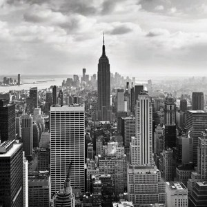 Фотообои Komar NYC Black And White (3,68х2,54 м) (8-323)