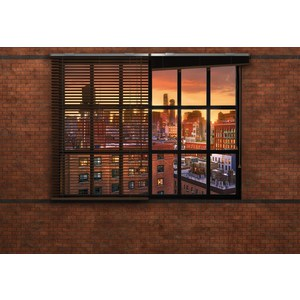 Фотообои Komar Brooklyn Brick (3,68х2,54 м) (8-882) фотообои komar brooklyn brick 3 68х2 54 м 8 882