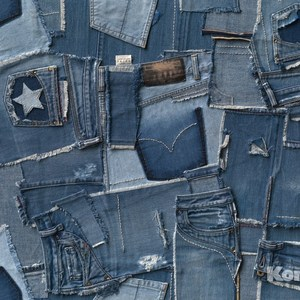 Фотообои Komar Jeans (3,68х2,54 м) (8-909) фотообои komar brooklyn bridge 3 68х1 24 м xxl2 320