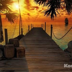 Фотообои Komar Treasure Island (3,68х2,54 м) (8-918) фотообои komar brooklyn brick 3 68х2 54 м 8 882