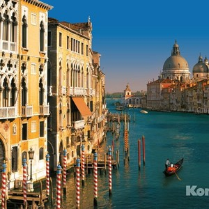 Фотообои Komar Venezia (3,68х2,54 м) (8-919) фотообои komar brooklyn bridge 3 68х1 24 м xxl2 320