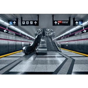 Фотообои Komar Subway (3,68х2,54 м) (8-996) фотообои komar brooklyn brick 3 68х2 54 м 8 882