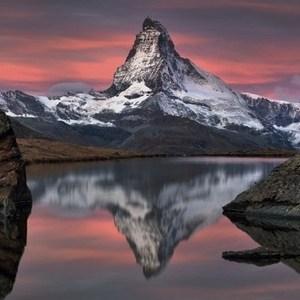Фотообои Komar Matterhorn (3,68х1,27 м) (4-322) фотообои komar alpengluhen 1 84х2 54 м 4 734