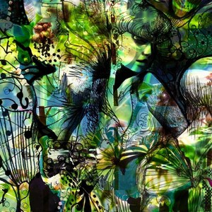 Фотообои Komar Aphrodite's Garden (1,84х2,54 м) (4-915) фотообои komar alpengluhen 1 84х2 54 м 4 734