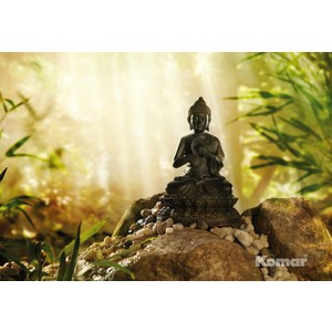 Фотообои Komar Buddha (1,84х1,27 м) (1-610) фотообои komar heaven on earth 2 54х1 84 м 4 121