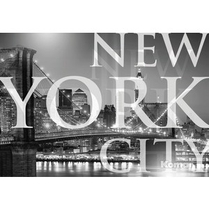 Фотообои Komar New York City (1,84х1,27 м) (1-614) new 10 1