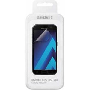 Защитная пленка Samsung Galaxy A3 2017 прозрачная 1шт. аксессуар защитная пленка для samsung galaxy a3 2017 luxcase прозрачная на весь экран 88157