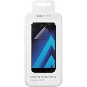 Защитная пленка Samsung Galaxy A7 2017 прозрачная 1шт.