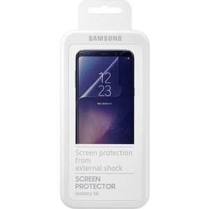Защитная пленка Samsung Galaxy S8 прозрачная 2шт. displei samsung galaxy s8 bydet zanimat bolee 90 perednei paneli