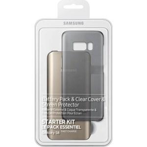 Комплект аксессуаров Samsung Starter Kit S8 (с внешним аккумулятором) набор samsung starter kit s8 samsung galaxy s8 черный [eb wg95ebbrgru]