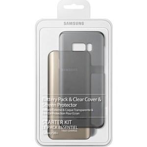 Комплект аксессуаров Samsung Starter Kit S8+ (с внешним аккумулятором) набор samsung starter kit s8 samsung galaxy s8 черный [eb wg95ebbrgru]