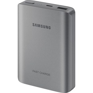 Внешний аккумулятор Samsung EB-PN930CSRGRU 10200mAh серый аккумулятор samsung eb pg930 5100mah black eb pg930bbrgru