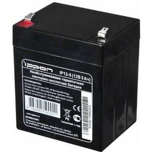 Батарея Ippon IP12-5 12В 5Ah штатное головное устройство prology dnu 2650