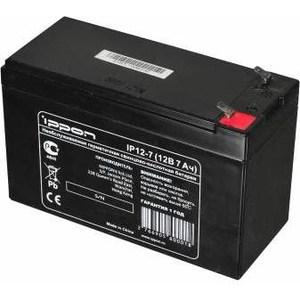 Батарея Ippon IP12-7 12В 7Ah батарея для ибп sven sv1272 12в 7 2а
