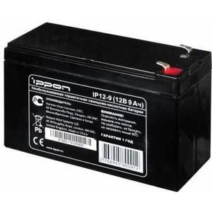 Батарея Ippon IP12-9 12В 9Ah батарея для ибп ippon ip12 7 12в 7ач