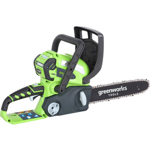 Электропила аккумуляторная GreenWorks G40CS30 (20117UB) электропила аккумуляторная greenworks gd40cs40 0