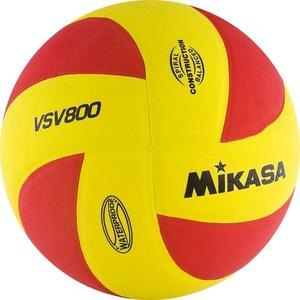 Мяч волейбольный Mikasa VSV800 р.5 мяч волейбольный mikasa vsv800 wb р 5